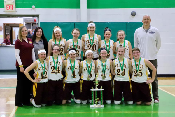 St. Paul Napoleon Lady Crusaders 2019 All Ohio Champions